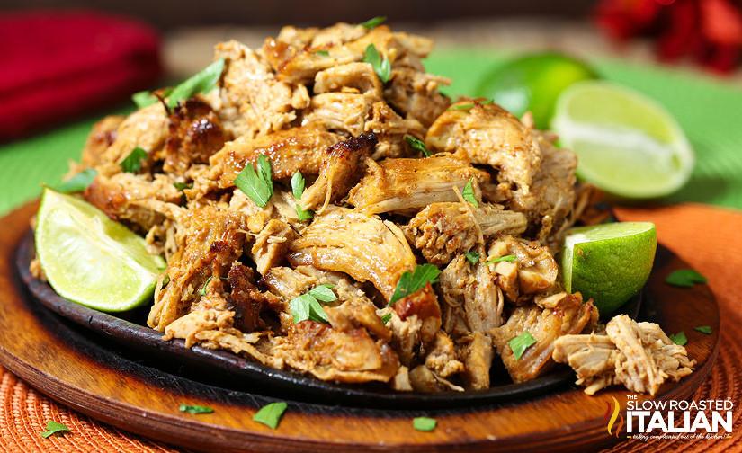 Slow Cooker and Broil Pork Carnitas