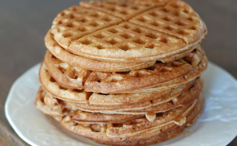 Whole Wheat Waffles!
