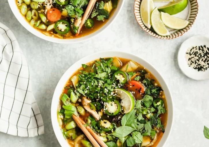 """Amazing Asian """"Pho-Like"""" Soup"""